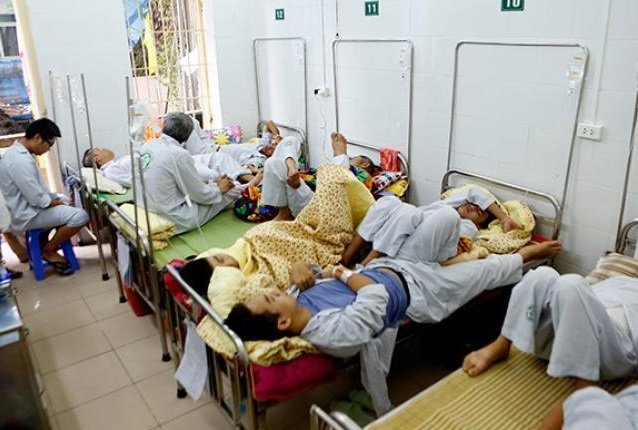 Hà Nội đang ở đỉnh điểm của dịch sốt xuất huyết