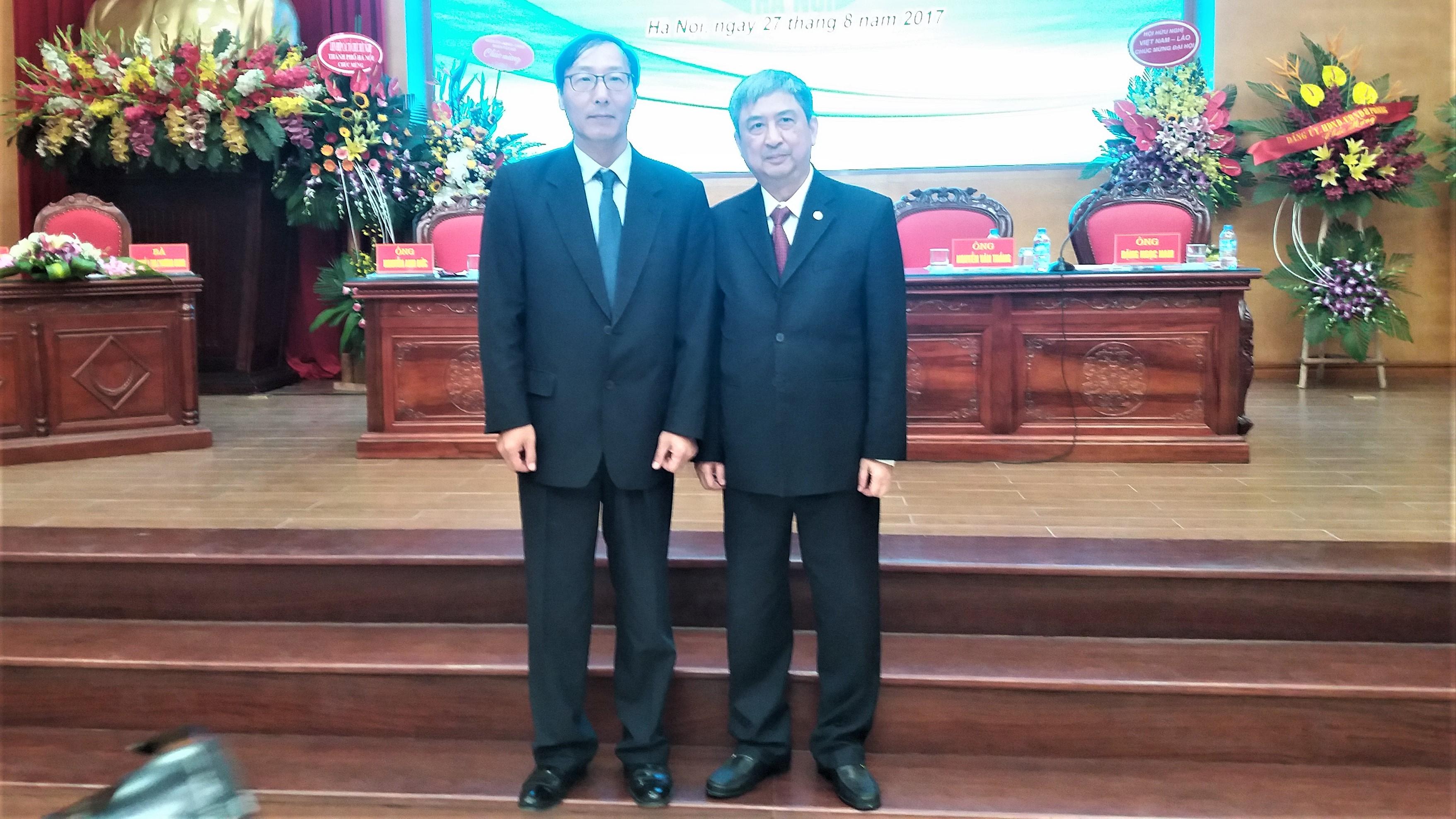 Tập đoàn Y dược Việt Nam tham dự đại hội hữu nghị Việt Nam – Hàn Quốc thành phố hà nội lần thứ v