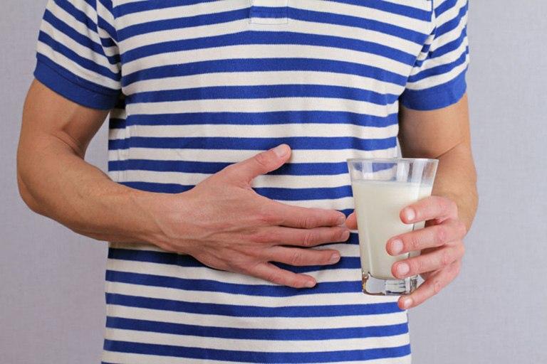 Người không thể dung nạp lactose sẽ cảm thấy đau bụng kéo dài