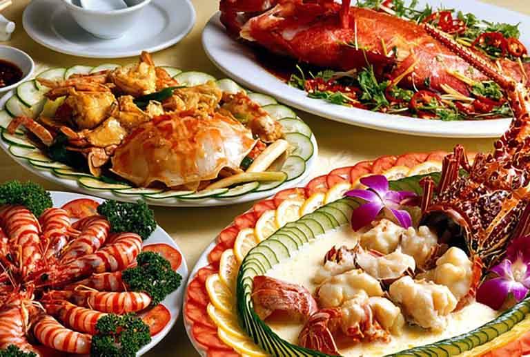 Hạn chế các nguồn thực phẩm từ hải sản nếu có cơ địa dị ứng