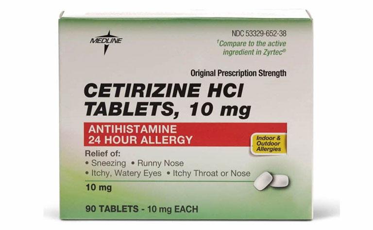 Thuốc Cetirizine