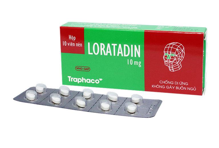 Thuốc Loratadine điều trị nổi mề đay lâu ngày không khỏi