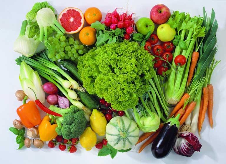 Người bệnh nên bổ sung thực phẩm nhiều rau xanh