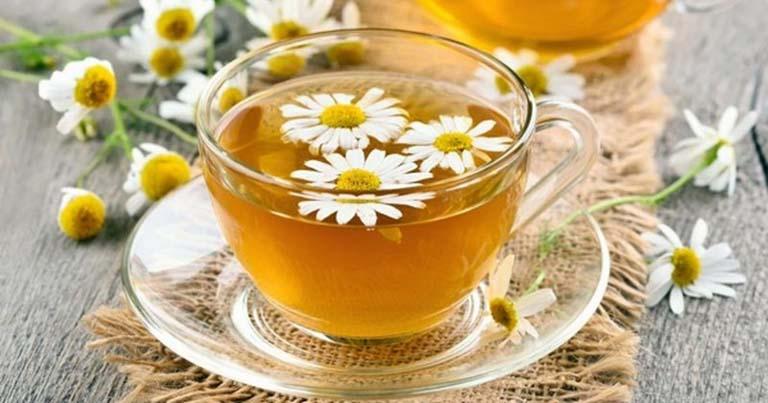 Kết hợp sử dụng trà thảo dược để giảm triệu chứng