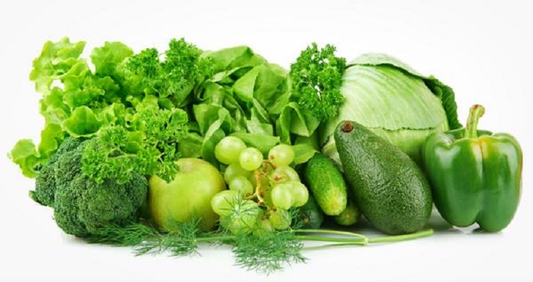 Ăn nhiều rau xanh hỗ trợ điều trị bệnh