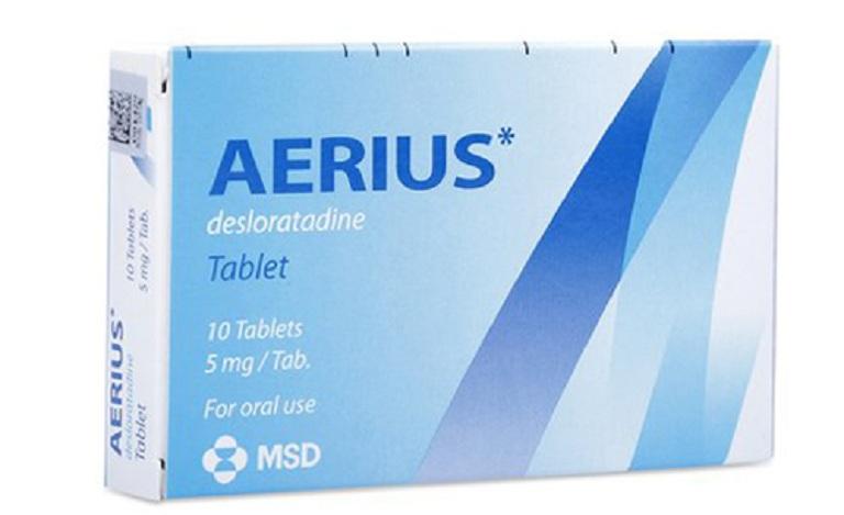 Aerius là một trong những loại thuốc trị mề đay mẩn ngứa được đánh giá hiệu quả cao