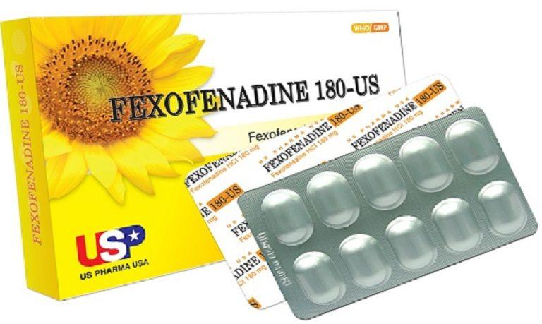 Thuốc Fexofenadine giúp giảm triệu chứng ngứa ngáy, nổi sẩn đỏ, phát ban
