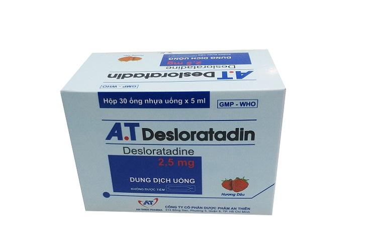 Desloratadin là thuốc trị viêm da cơ địa đặc trị chuyên dùng cho người viêm da cơ địa