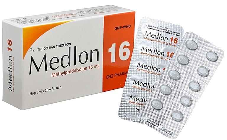 Thuốc đặc trị viêm da cơ địa Medrol dạng uống