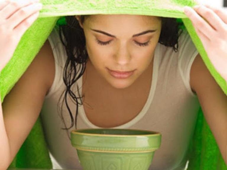 Xông hơi bằng cách này giúp hỗ trợ cải thiện triệu chứng bệnh