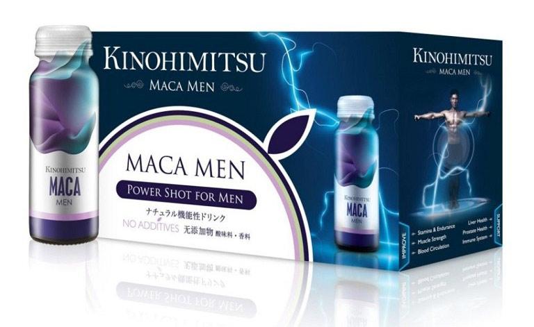Thuốc hỗ trợ tăng sinh lý nam giới Kinohimitsu Maca Men