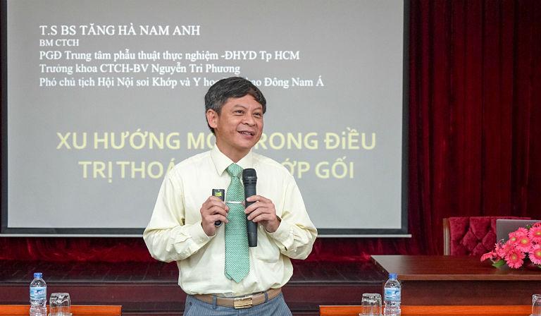Bác sĩ Tăng Hà Nam Anh là vị bác sĩ chữa thoát vị đĩa đệm giỏi tại TPHCM