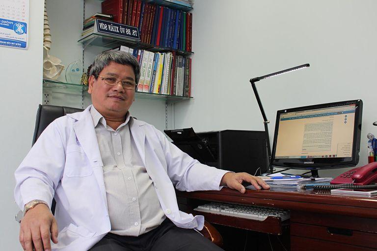 Bác sĩ Võ Xuân Sơn đã có nhiều năm kinh nghiệm trong lĩnh vực chữa trị thoát vị đĩa đệm và các bệnh liên quan đến xương khớp
