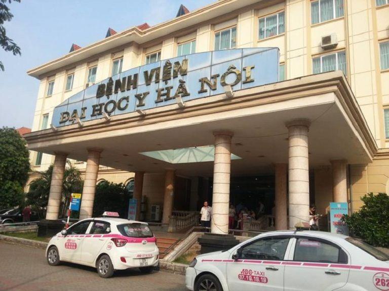 Bệnh viện Y học Hà Nội cũng là địa chỉ chuyên khám chữa bệnh nam khoa