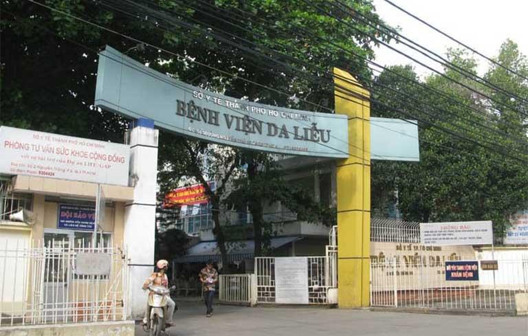 Bệnh viện Da liễu TP.HCM được nhiều người bệnh lựa chọn