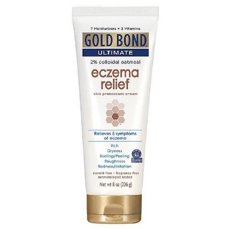 Thuốc bôi Gold Bond chứa các thành phần tự nhiên tốt cho da