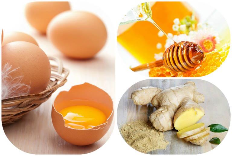 Bài thuốc chữa liệt dương với mật ong, gừng và trứng gà ta