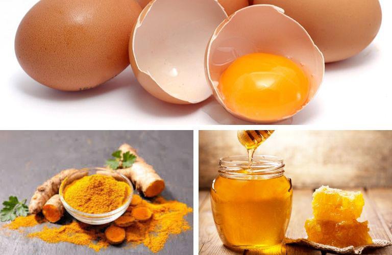 Cách chữa yếu sinh lý bằng trứng gà kết hợp mật ong và nghệ