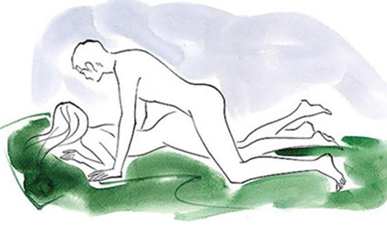 Cách quan hệ lâu ra với tư thế úp thẳng