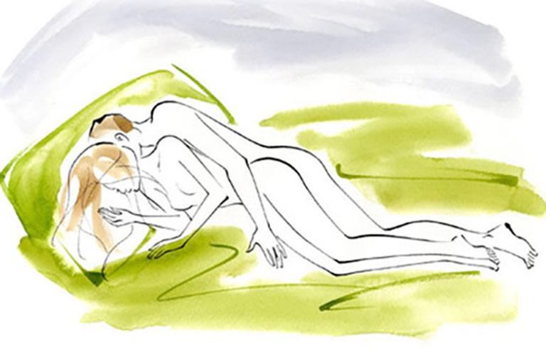 Cách quan hệ lâu ra với tư thế úp thìa