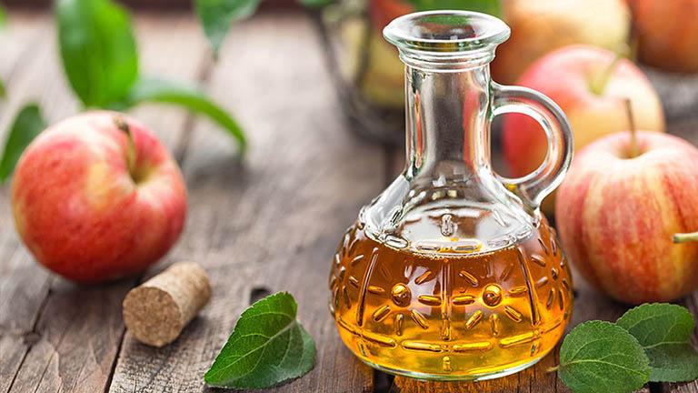 Giấm táo có tác dụng kháng khuẩn và ức chế hoạt động của vi nấm