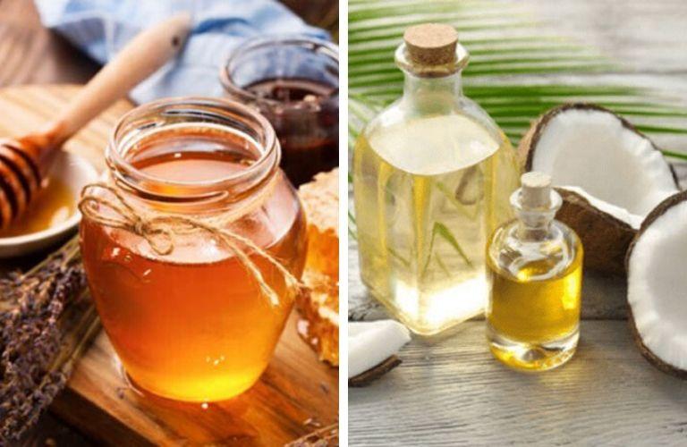 Cách trị viêm da tiết bã bằng mật ong và dầu dừa