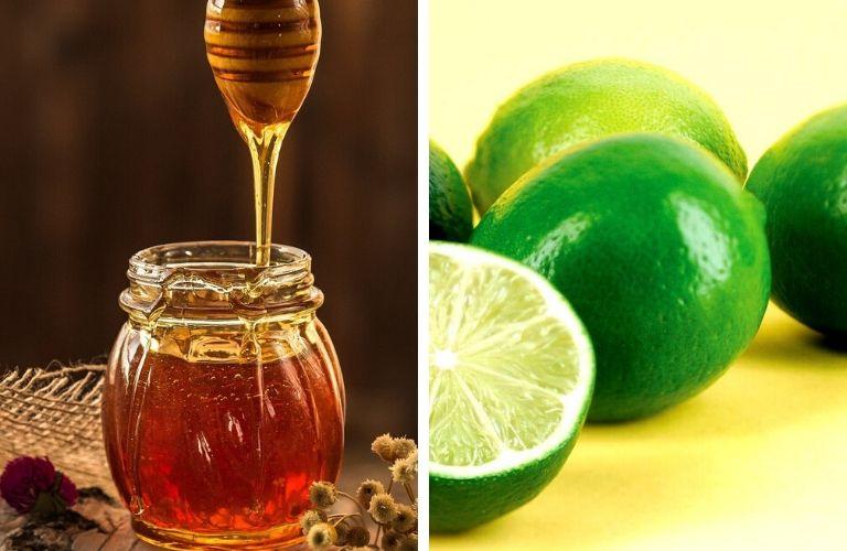 Cách trị viêm da tiết bã bằng mật ong kết với chanh tươi