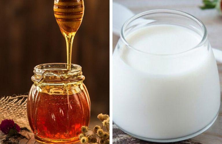 Kết hợp mật ong và sữa chua
