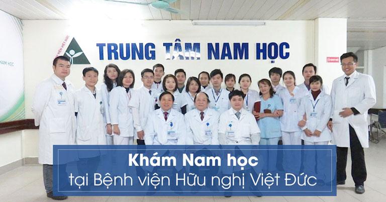 Khoa nam học Bệnh viện hữu nghị Việt Đức