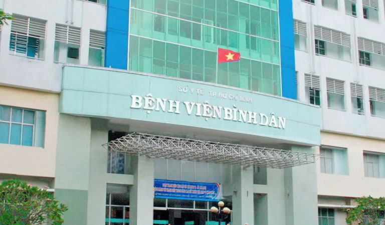 Bệnh viện Bình Dân chữa rối loạn cương dương hiệu quả