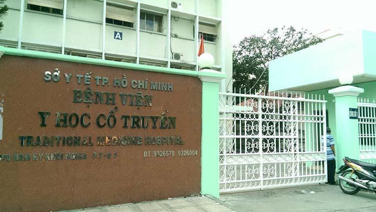 Bệnh viện y học cổ truyền TP Hồ Chí Minh - cơ sở chữa xuất tinh sớm bằng Đông y