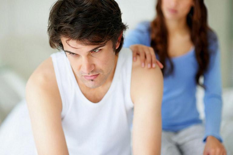 Yếu sinh lý gây nhiều phiền toái và ảnh hưởng đến hạnh phúc lứa đôi