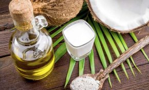 Dầu dừa chứa nhiều hoạt chất có công dụng điều trị bệnh chàm hiệu quả