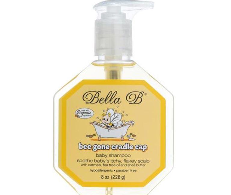 Dầu gội trị viêm da tiết bã trẻ sơ sinh Bella B Bee Gone Cradle Capchiết xuất hoàn toàn từ các nguyên liệu tự nhiên