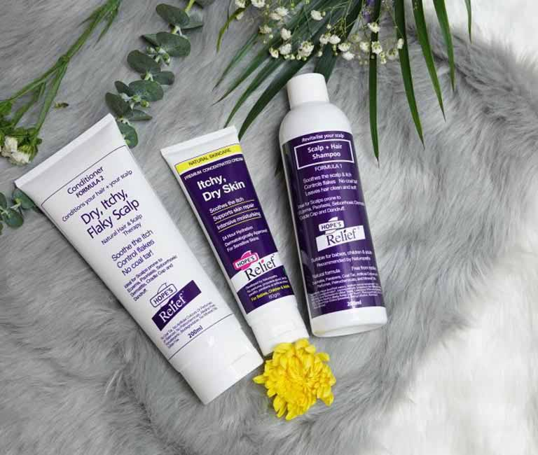 Hope's Relief Itchy Flaky Scalp không gây kích ứng cho da trẻ