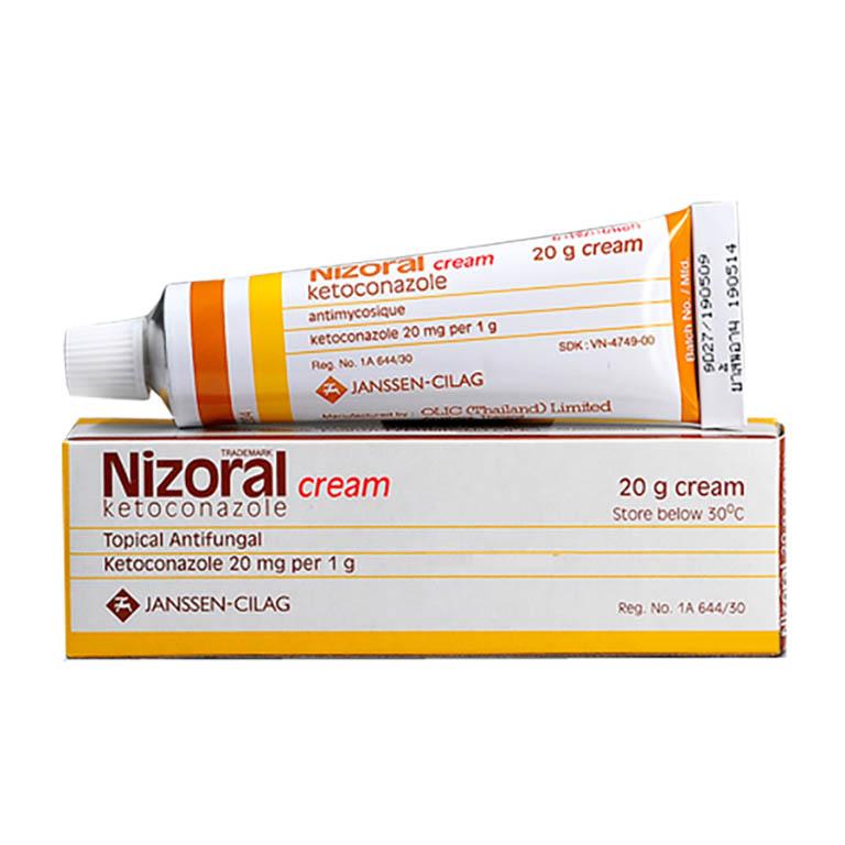 """""""Hắc lào bôi thuốc gì?"""" - Kem bôi Nizoral điều trị hiệu quả"""