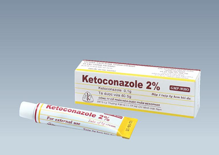 Thuốc bôi trị hắc lào Ketoconazole