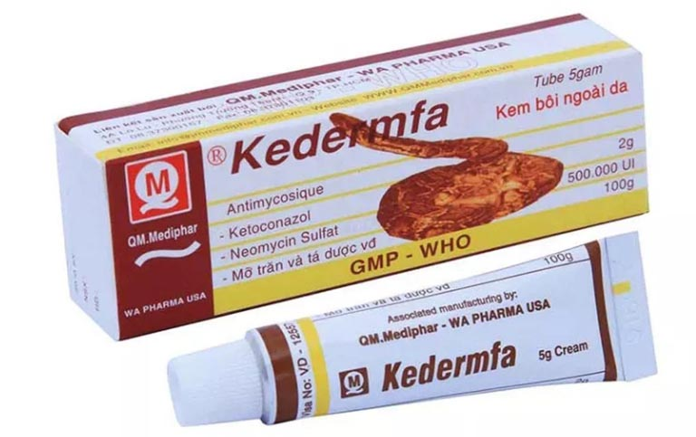 Kem bôi Kedermfa - thuốc trị hắc lào