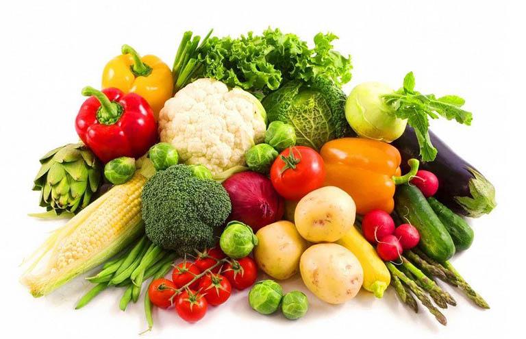Các loại rau củ quả rất tốt cho người bệnh