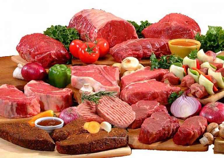 Bị hắc lào nên kiêng thịt đỏ, sữa chế phầm từ sữa,...