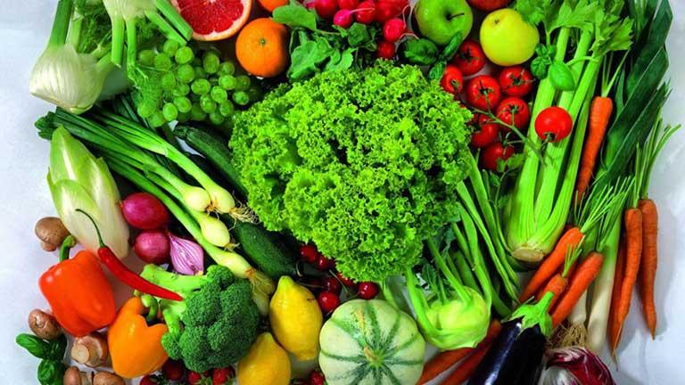 Bổ sung nhiều rau xanh trong thực đơn hằng ngày
