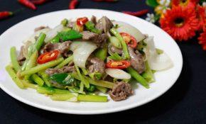 Các món ăn có kết hợp hành tây giúp chống xuất tinh sớm rất tốt