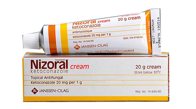 Sử dụng thuốc bôi giúp trị nấm trực tiếp trên da hiệu quả