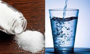 Dùng nước muối trị nấm da đầu giúp sạch da - giảm ngứa