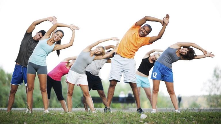 Thường xuyên tập thể dục để phòng tránh bệnh