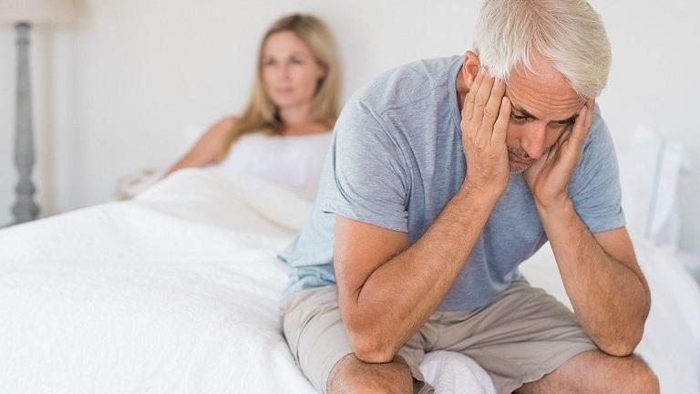 Rối loạn cương dương tạm thời là tình trạng nam giới mất dần đi khả năng cương cứng