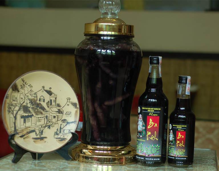 Rượu thuốc ba kích được mệnh danh là thần dược trị xuất tinh sớm cho phái mạnh