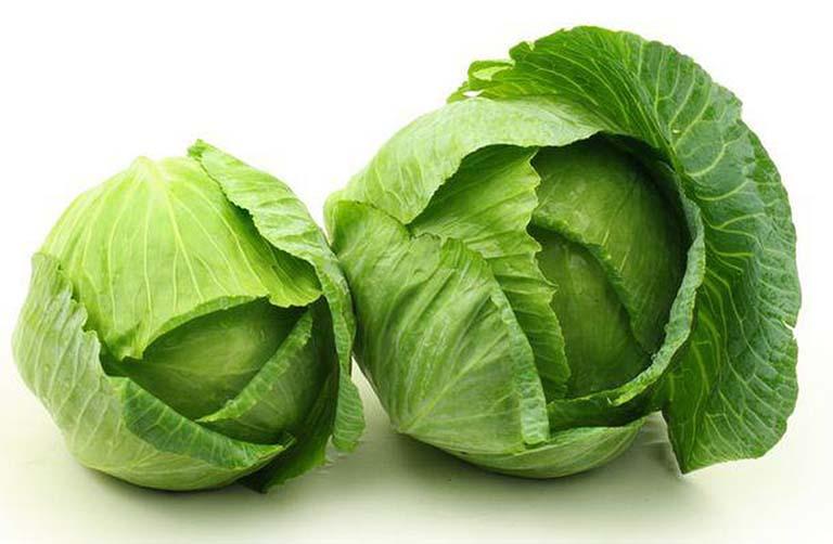 Bắp cải và các loại rau xanh giúp tăng cường đào thải độc tố rất tốt