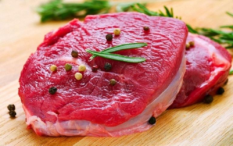 Thịt bò đỏ giúp cải thiện sinh lực
