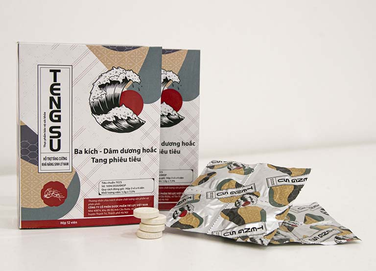 Thuốc chống xuất tinh sớm dạng viên ngậm Tengsu